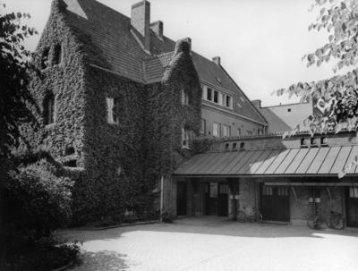 Lunds konsthall Exteriör, före byggnation