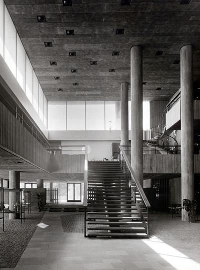 Yrkesskola, S:t Görans gymnasium Interiör
