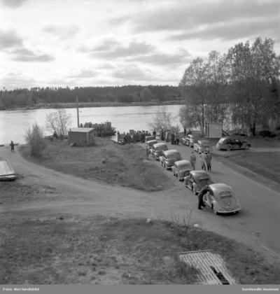 Färjan till Skeppsholmen vid Lövudden.