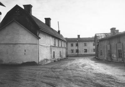Enköping, Munksundet, Hantverkaregatan mot Munksundsgatan
