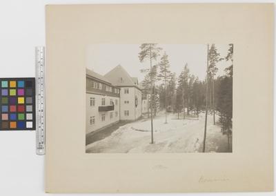 Romanäs sanatorium Exteriör
