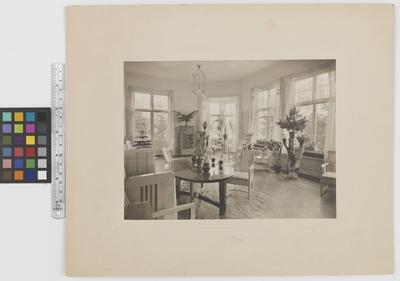 Romanäs sanatorium Interiör, uppehållsrum