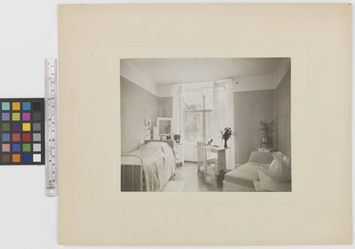 Romanäs sanatorium Interiör, sovrum
