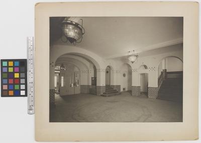 Läkaresällskapets hus Interiör, vestibulen