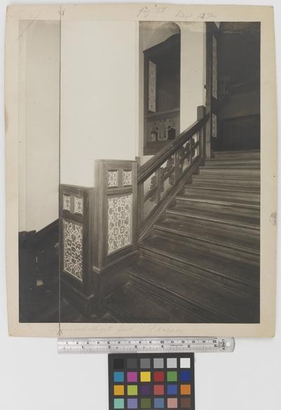 Läkaresällskapets hus Interiör, trappa