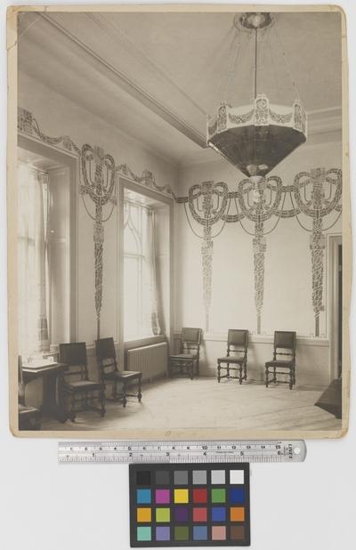 Läkaresällskapets hus Interiör, matsalen