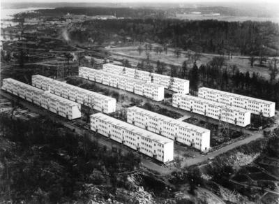 Smalhusområde Hyreshus i tre våningar