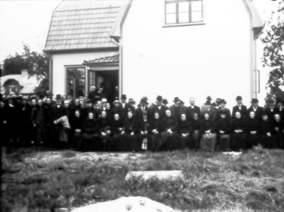 Stationsskolan Floby, de gamlas dag. Bl.a. Johan på Högen, Alma på Backen.