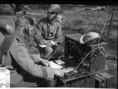 Radiostation, 10 watt, A 6.