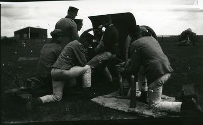 Kanon m/1902. 7,5 cm. Pjäsexercis, A 6.