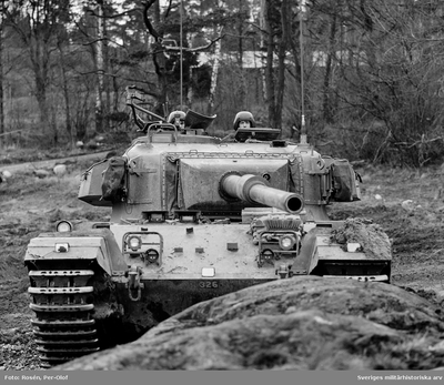 Stridsvagn 101 Centurion.  Milregnr: 326