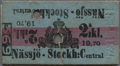 Edmondsonsk biljett