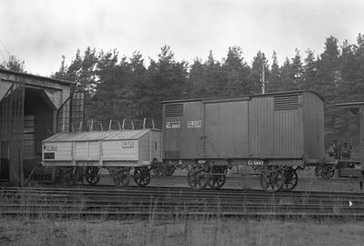 Täckt godsvagn