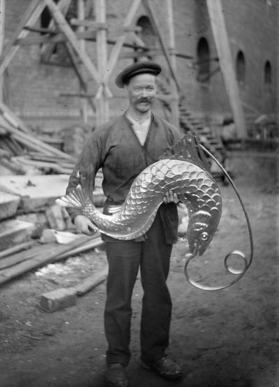 Stockholms stadshus Art and Craft Stockholms stadshus. Bilder ur låda 7 Art and Craft. Ragnar Östbergs föreläsningsbilder.