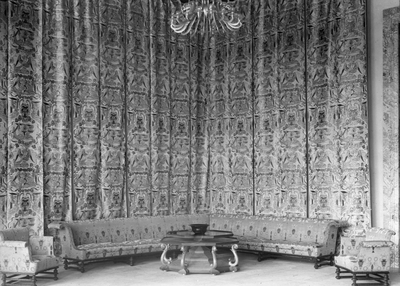 Stockholms stadshus Stockholms stadshus. Interiör. Art and Craft. Låda 7. Ragnar Östbergs föreläsningsbilder