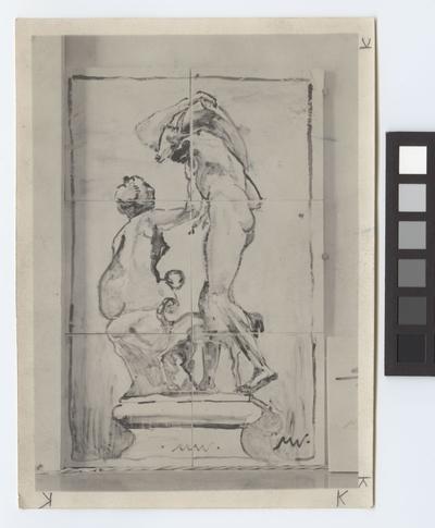 Stockholms stadshus Exteriör Kakel av M. W.. Fig.11. Tiles-composition. Stockholms stadshus.
