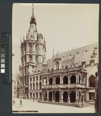 Rathaus, Köln Exteriör, Stadshus i Köln.