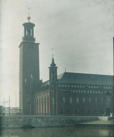 Stockholms stadshus Stadshuset i Stockholm. Exteriör