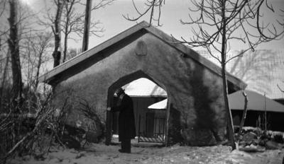 Friggeråkers kyrkogård. Stigluckan.