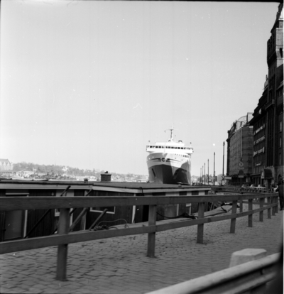 Bilfärjan M/S Prins Hamlet. 18 Maj 1966