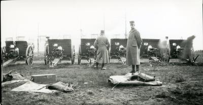 Kanon m/1902. 7,5 cm. Grundvärdesskjutningar.