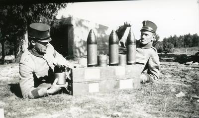 Ammunition till 10,5 cm Haubits. (Grönberg och Johansson)