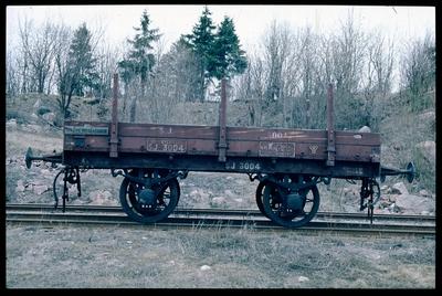 Öppen godsvagn