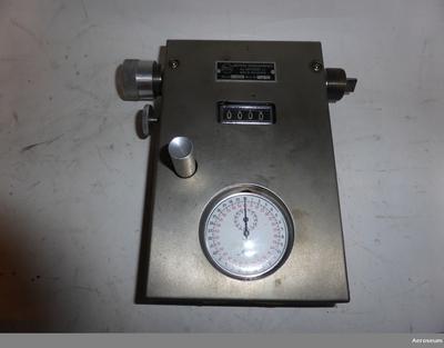 Kontrollapparat, Varvräknare