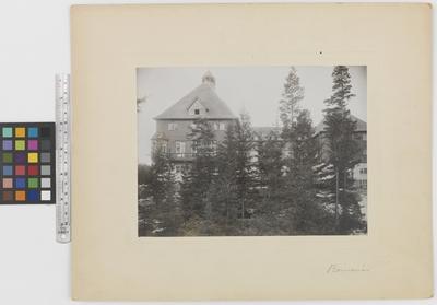 Romanäs sanatorium Exteriör, nordfasaden