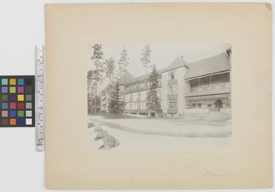 Romanäs sanatorium Exteriör, sydsidan