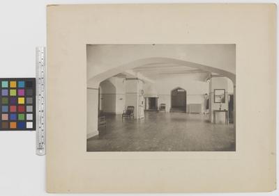 Romanäs sanatorium Interiör, nedre hallen