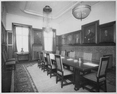 Läkaresällskapets hus Interiör, sammanträdesrum
