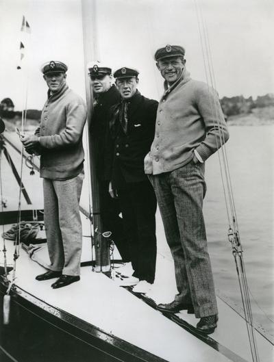 Göteborgsbåten 6-S35 INGEGERD var svensk deltagare i seglingarna om Guldpokalen (Scandinavian Gold Cup) 1928 samt i Sandhamnsregattan samma år; om dessa seglingar, se KSSS årsbok 1929 s 172 ff resp 202 ff. Besättningen på båten utgjordes av Yngve Lindqvist (rorsman), Hakon Reuter, Georg Lindahl och Harry