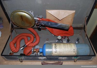 Lustgasapparat