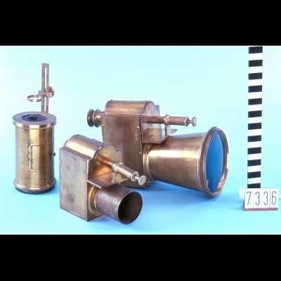 Zonnemicroscoop met kist