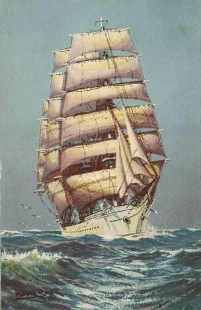 Suomen Joutsen. Adolf Bockin maalaus