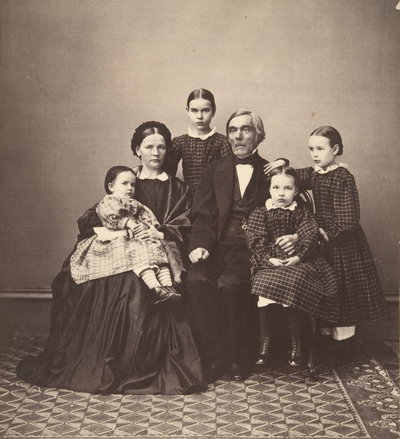 Elias Lönnrot perheineen