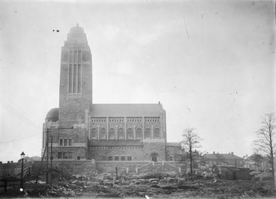 Kallion kirkko rakenteilla