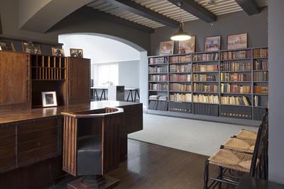 Hvitträsk, kirjasto, ateljee