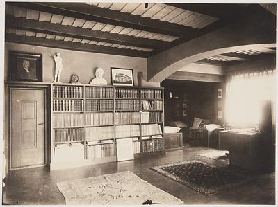 Hvitträsk, kirjasto