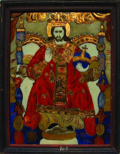 Iisus Hristos Mare Arhiereu și Învățător, tronând