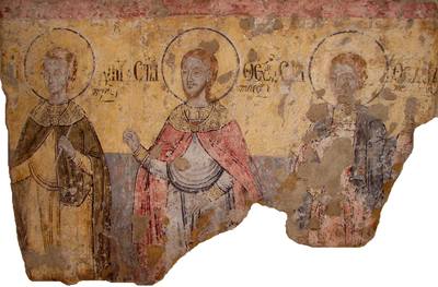 Sfinții mucenici Dimitrie, Teodor Tiron și Teodor Stratilat