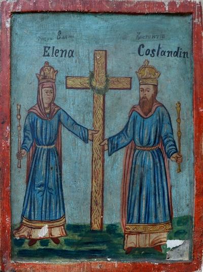 Pogorârea Sf. Duh / Sfinții împărați Constantin și Elena