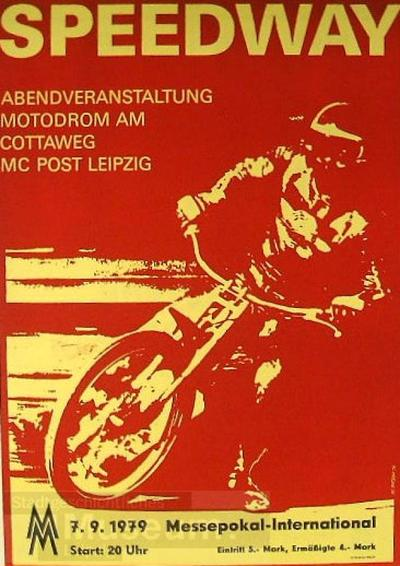 Speedway - Abendveranstaltung Motodrom am Cottaweg MC Post Leipzig