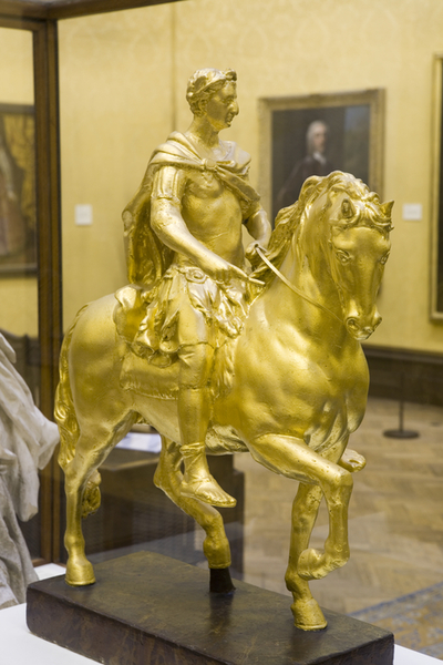 William III on horseback