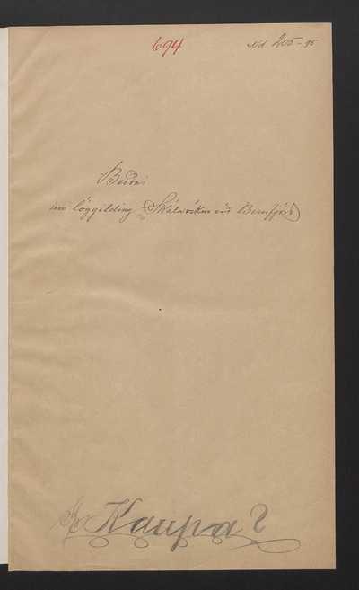 Dagbók Alþingis 1895, III. bindi