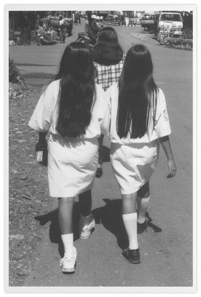 Sans titre (3 chevelures de jeunes filles)