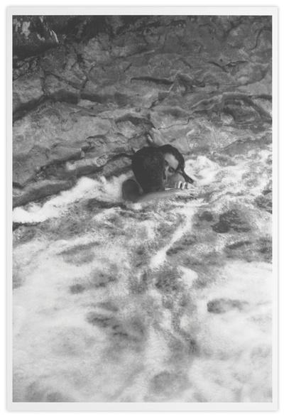 Baiser dans l'eau
