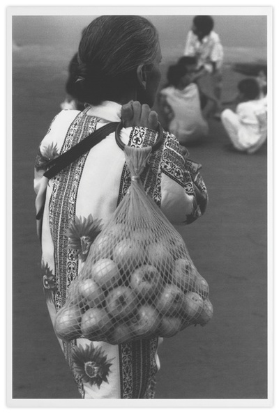Femme aux pommes