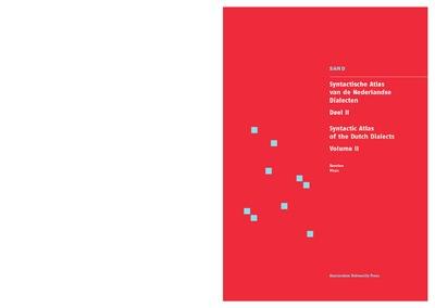 Syntactische atlas van de Nederlandse dialecten : Deel II